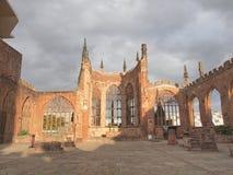 Καταστροφές καθεδρικών ναών του Κόβεντρυ Στοκ Φωτογραφία