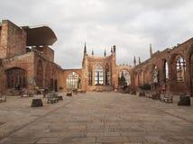 Καταστροφές καθεδρικών ναών του Κόβεντρυ Στοκ Εικόνες