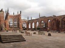 Καταστροφές καθεδρικών ναών του Κόβεντρυ Στοκ Φωτογραφίες