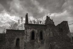 Καταστροφές καθεδρικών ναών Στοκ εικόνες με δικαίωμα ελεύθερης χρήσης