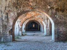 Καταστροφές κρατικών πάρκων Pickens οχυρών Στοκ Εικόνες