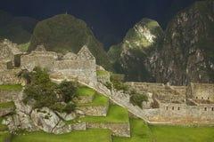 Καταστροφές μέσα σε Machu Picchu Στοκ εικόνα με δικαίωμα ελεύθερης χρήσης
