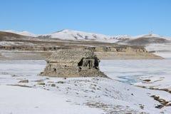 Καταστροφές μιας αρχαίας αρμενικής εκκλησίας Στοκ φωτογραφία με δικαίωμα ελεύθερης χρήσης