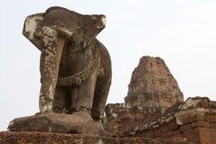Καταστροφές ναών ανατολικού Mebon Στοκ Εικόνες