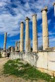 Καταστροφές ναών Aphrodite σε Aphrodisias Τουρκία Στοκ Εικόνες