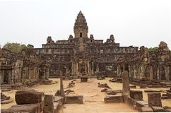 Καταστροφές ναών Bakong Στοκ εικόνα με δικαίωμα ελεύθερης χρήσης