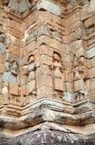Καταστροφές ναών Bakong Στοκ Φωτογραφίες
