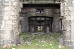 καταστροφές οικοδόμηση&si Στοκ εικόνα με δικαίωμα ελεύθερης χρήσης
