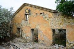 καταστροφές οικοδόμησης Στοκ φωτογραφία με δικαίωμα ελεύθερης χρήσης