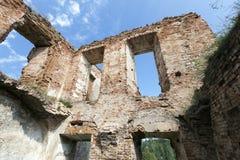 Καταστροφές παλατιών Ruzhany Στοκ Εικόνες