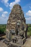 Καταστροφές προ Rup, ένας από τους διάσημους αρχαίους ναούς Angkor σε Cambod Στοκ Εικόνα