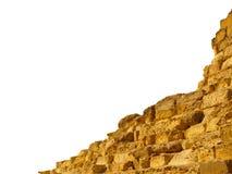 καταστροφές πυραμίδων Στοκ φωτογραφία με δικαίωμα ελεύθερης χρήσης