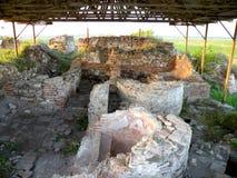 Καταστροφές σε Halmyris, antic ελληνική πόλη σε Dobrogea Στοκ φωτογραφίες με δικαίωμα ελεύθερης χρήσης