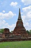 Καταστροφές σε Wat Maha That σε Ayutthaya Στοκ εικόνες με δικαίωμα ελεύθερης χρήσης