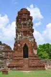 Καταστροφές σε Wat Maha That σε Ayutthaya Στοκ Εικόνα
