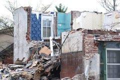καταστροφές σπιτιών Στοκ Εικόνα