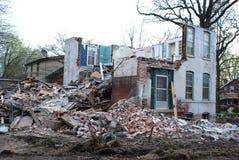 καταστροφές σπιτιών Στοκ Φωτογραφία