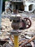 καταστροφές σπιτιών στοκ εικόνες