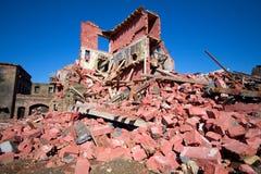 Καταστροφές σπιτιών Στοκ φωτογραφίες με δικαίωμα ελεύθερης χρήσης