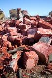 Καταστροφές σπιτιών Στοκ εικόνα με δικαίωμα ελεύθερης χρήσης