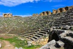 Καταστροφές σταδίων Aphrodisias σε Aphrodisias Τουρκία Στοκ Φωτογραφία