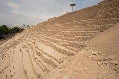 Καταστροφές στη Λίμα, Περού στοκ φωτογραφία
