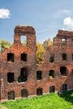 Καταστροφές στο αρχαίο φρούριο Oreshek στοκ εικόνες