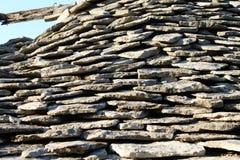 Καταστροφές στο παλαιό χωριό πετρών Razanj Στοκ Εικόνες