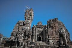 Καταστροφές στο ankor wat, Καμπότζη Στοκ εικόνα με δικαίωμα ελεύθερης χρήσης