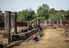 Καταστροφές στο ankor wat, Καμπότζη Στοκ φωτογραφία με δικαίωμα ελεύθερης χρήσης