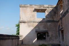 Καταστροφές στο cemeti pulo, taman κάστρο νερού της Sari - ο βασιλικός κήπος του σουλτανάτου της Τζοτζακάρτα Στοκ φωτογραφίες με δικαίωμα ελεύθερης χρήσης