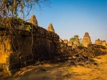 Καταστροφές στο TA Keo, Angkor Στοκ εικόνα με δικαίωμα ελεύθερης χρήσης