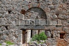Καταστροφές της αρχαίας πόλης, Appolonia σε Antalia, Τουρκία Στοκ εικόνα με δικαίωμα ελεύθερης χρήσης