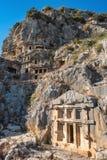 Καταστροφές της αρχαίας πόλης Myra στοκ φωτογραφίες