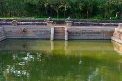 Καταστροφές της αρχαίας πόλης Anuradhapura, Σρι Λάνκα Στοκ Εικόνα