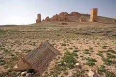 Καταστροφές της αρχαίας πόλης Palmyra - της Συρίας Στοκ εικόνα με δικαίωμα ελεύθερης χρήσης