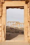 Καταστροφές της αρχαίας πόλης Palmyra - της Συρίας Στοκ εικόνες με δικαίωμα ελεύθερης χρήσης
