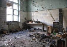 Καταστροφές της βιομηχανικής επιχείρησης Στοκ Φωτογραφία