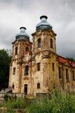 Καταστροφές της εκκλησίας του Visitation - του Skoky στοκ φωτογραφία με δικαίωμα ελεύθερης χρήσης