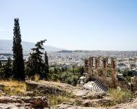 Καταστροφές της Ελλάδας Στοκ εικόνα με δικαίωμα ελεύθερης χρήσης