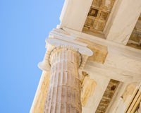 Καταστροφές της Ελλάδας Στοκ φωτογραφία με δικαίωμα ελεύθερης χρήσης
