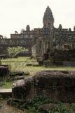 καταστροφές της Καμπότζη&sigm Στοκ Εικόνα