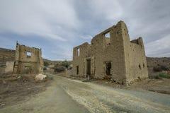 Καταστροφές της περιοχής Sozomenos Λευκωσία επιβαρύνσεων Κύπρος Στοκ Εικόνες