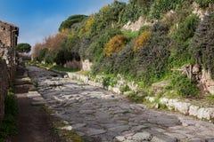 Καταστροφές της Πομπηίας Στοκ Εικόνες