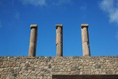 Καταστροφές της Πομπηίας Στοκ Φωτογραφία