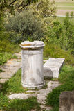 Καταστροφές της πόλης αρχαίου Έλληνα του τρόυ Στοκ εικόνες με δικαίωμα ελεύθερης χρήσης