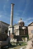 καταστροφές της Ρώμης Στοκ φωτογραφία με δικαίωμα ελεύθερης χρήσης
