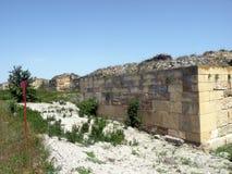 Καταστροφές της antic πόλης Histria Στοκ Εικόνες