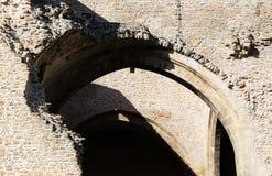 Καταστροφές, τοίχοι πετρών, Μεσαίωνες Στοκ φωτογραφίες με δικαίωμα ελεύθερης χρήσης