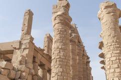 Καταστροφές του αρχαίου αιγυπτιακού ναού Στοκ εικόνες με δικαίωμα ελεύθερης χρήσης